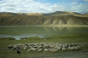 15 Fahrt von Lhatse nach Dzongba