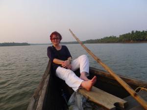14 Maria im boot