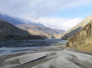 19 Kali Gandaki Flussbett