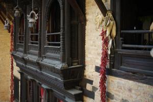 3 Patan Newa Chen Hausfasade