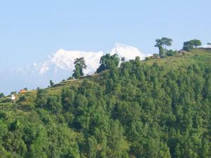 14a Wandern mit Annapurnakulisse Kopie