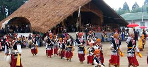 12nongkrem-festival-of-meghalaya Khasi Volk